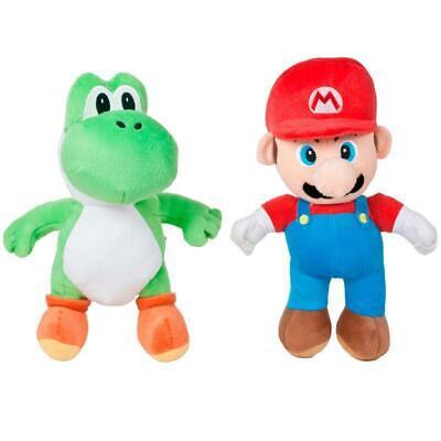 Nintendo Super Mario 10 Inch Plush Figure Toy - Mario and/or Yoshi