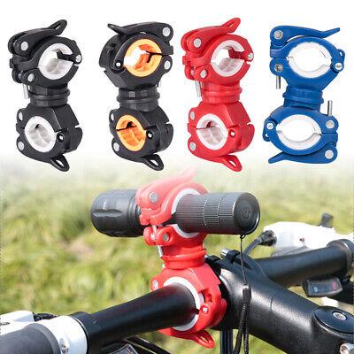 360 Degree Led Flashlight - 360 Degree Bike LED Flashlight Mount Holder Lamp Stand Bicycle Torch Clip Clamp