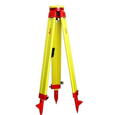 New Leica Wooden Tripod For Survey Instrument Total Station