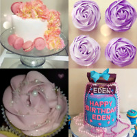 Custom cakes, cupcakes, cookies and other desserts