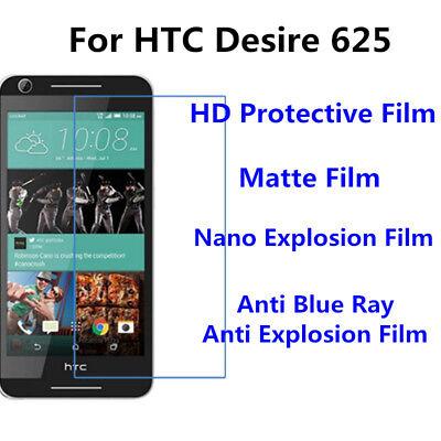3pcs For HTC Desire 625 Matte/Nano Explosion/Anti Blue Ray Screen Protector Htc Desire Matte
