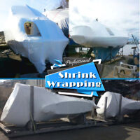 Shrink Wrapping, Boat Storage and Winterization now available.
