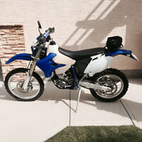 2006 Yamaha WR450F (plated for the street) / Low KM's
