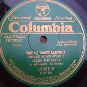 Old 78 rpm records from Eastern Europe Russia Spain Baltic