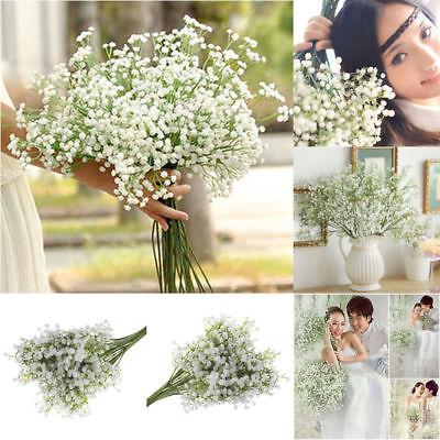 Home Decoration - 52cm Gypsophila Baby's Breath Artificial Fake Flower Home Wedding Decor UK