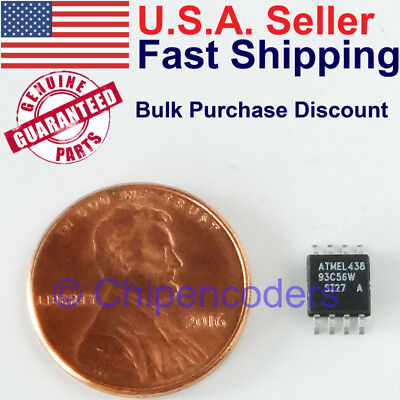 1510pcs At93c56w 2k Bit 3-wire Serial Eeprom Atmel Ic Smd 2.7-5.5v 93c56