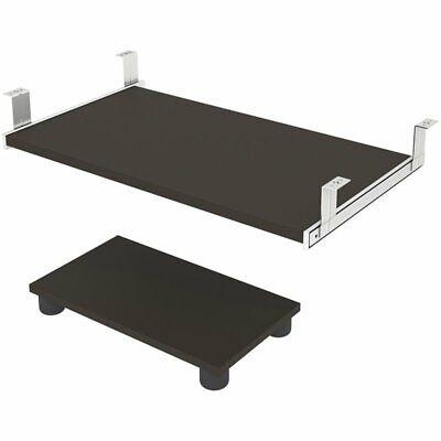 Bestar Prestige Plus Keyboard Shelf And Cpu Platform In Slate