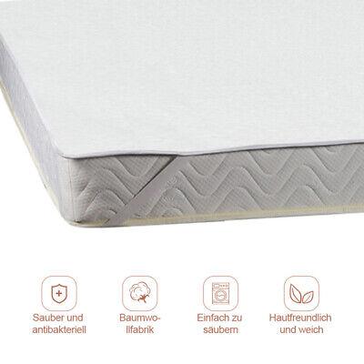 Matratzenschoner Schutz Matratzenauflage Spitzenqualität 140x200 cm