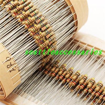 1000pcs 16w 18w 0.125w Watt Carbon Film Resistor Resistor 5 1r-910r Ohm