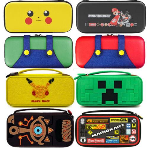 Schutzhülle für Nintendo Switch Case Tasche Pokemon  Hardcase Cover Hartschale