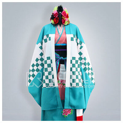 Cosonsen Ao no Blue Exorcist Shiemi Moriyama Kimono Cosplay Costume Halloween - Ao No Exorcist Halloween