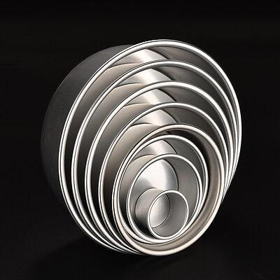 2/4/5/6/7/8/9/10 Cake Baking Mould Aluminum Alloy Round Pan