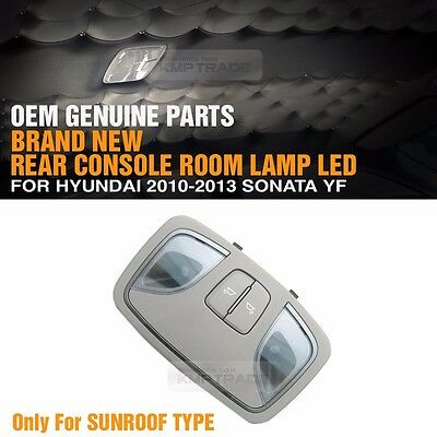 OEM Genuine Rear Room Lamp Console Interior for HYUNDAI 2010 - 2013 Sonata YF