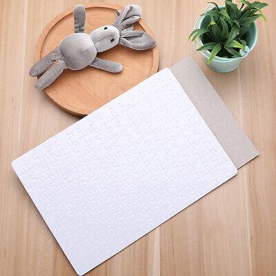 20 Sheets Jigsaw Puzzle Diy Blank Dye Sublimation Printable Heat Press 120pcs