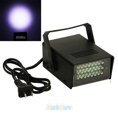 Mini DJ Strobe Light Flash Light Disco Club Party Stage DJ Effect Lighting 24LED