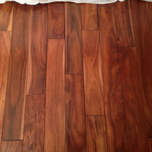 Hardwood Flooring Acadia Walnut T&G Beautiful Approx 90+sqft