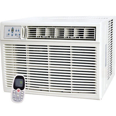8,000 BTU Window Air Conditioner Room - HEATER, 8000 BTU - Wall AC w/ Remote