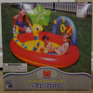 Bestway Play Center Inflatable Play Wading Pool NEW in Box
