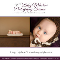 Book a Newborn Photography Session & Get a FREE Baby Session