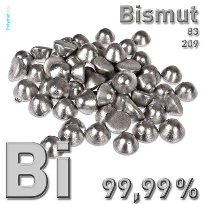 250 G Bismut Wismut Bismuth Bi 999 Reines Metall Element 83 025 Kg Kristalle