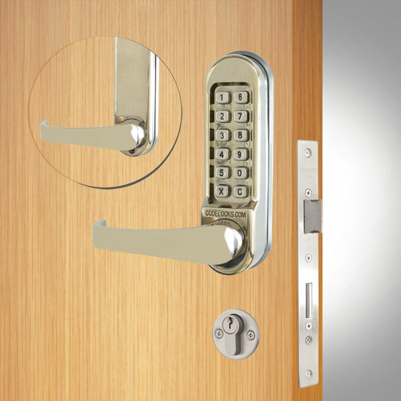 Codelocks CL520 Mortice Lock SS (CL520-SS)