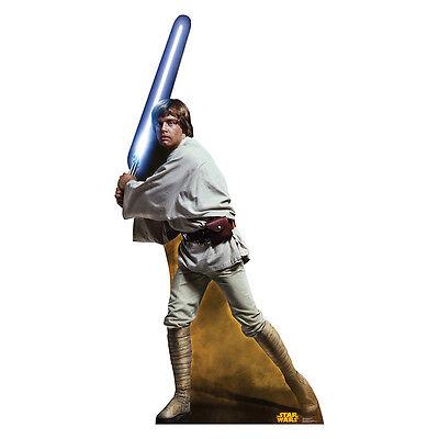 LUKE SKYWALKER Star Wars Jedi Retouched CARDBOARD CUTOUT Standup Standee Poster - Star Wars Cardboard