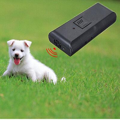 Ultrasonic Aggressive Neighbours Dog Barking Stopper Repeller Chaser Trainer cat
