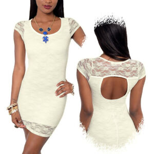 Cute Form Fitting Lace Dress (Never Worn)