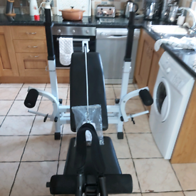 Pro plus 2 weights bench