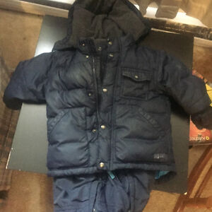 Boys Blue Baby Gap Snowsuit