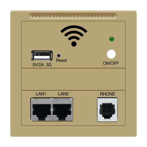 Wall AP 3G Router WiFi USB Charge Socket Panel for Computer