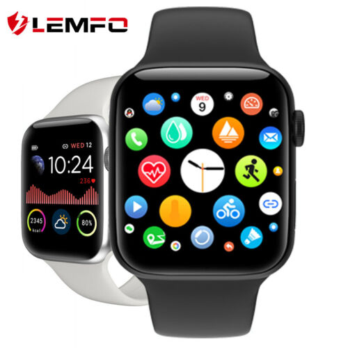 LEMFO Men Women Smart Watch Heart Rate Blood Oxygen Pressure