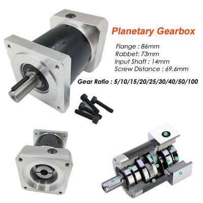 Nema34 Planetary Gearbox Gearhead 1001 501 251 201 101 51 Speed Reducer