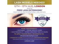 Models for Lash Extensions from the Best Artists!