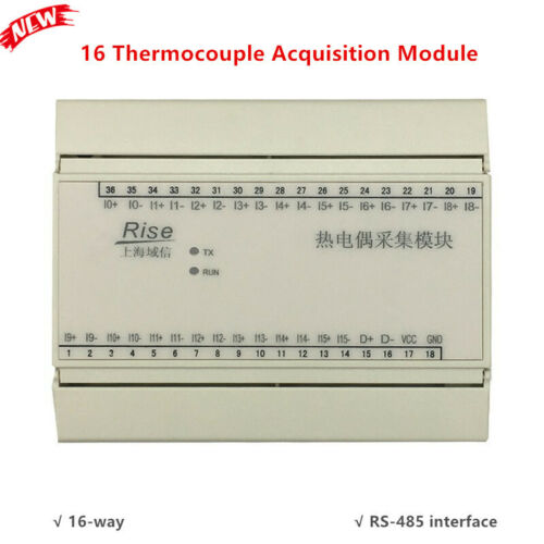 16-Way Data Acquisition System Module K Thermocouple Temperature Transmitter
