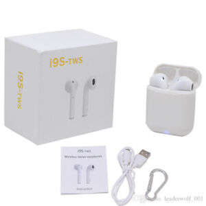 Mini TWS Dual Bluetooth AirPods (HBQ-i9S) with Charging Case