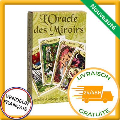 Autres Grimaud L Oracle Des Miroirs Cartomancie Multicolore Carte Divinatoire Avenir Rcmoveisplanejados Com Br