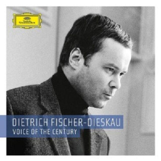 DIETRICH FISCHER-DIESKAU-VOICE OF THE CENTURY (LIMITED EDITION) 24 CD + DVD NEU