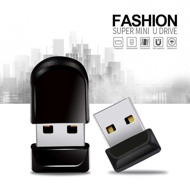Black Color : Grey USB Flash Drives External Storage USB Flash Drives 64GB USB 2.0 Metal Waterproof High Speed U Disk