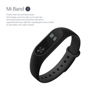 Mi Band 2  with OLED IP67 Heart Rate Monitor Fitness Tracker