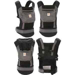 Ergo Baby Carrier- Charcoal Black