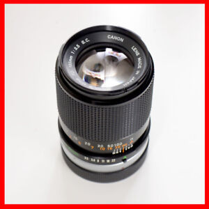 Canon FD 135mm f/3.5 FD manual focus Lens