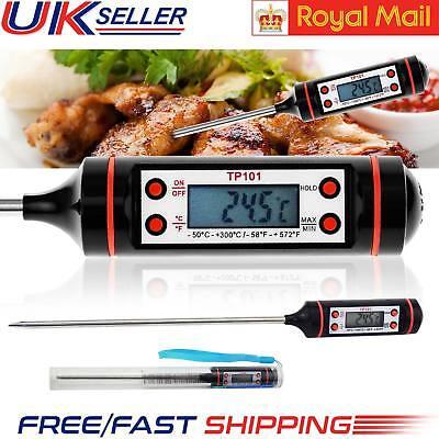 Digital Food Thermometer Temperature Probe Baking Jam Meat Cooking Sensor Tool