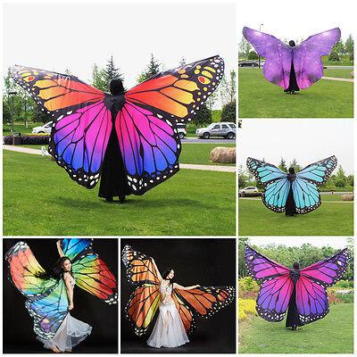 Schmetterlingsflügel Feen Flügel Kostüm Tanz Feenflügel Elfen Bekleidung - Tanz Kostüm Fee Flügel