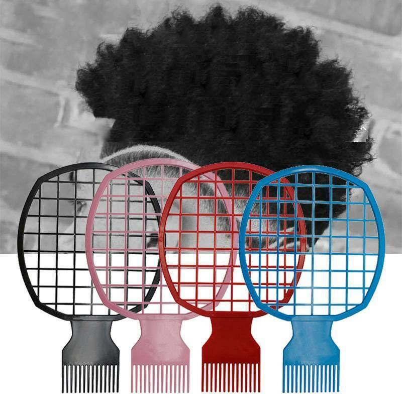 Men Twist Hair Comb Wave Curl Brush Curly Hair Braiders Tool