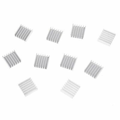 2x 10 Pcs 20mm X 20mm X 6mm Aluminum Heatsink For Ic Mosfet Scr A5r2