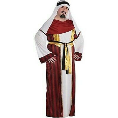 MEN HALLOWEEN COSTUME SAHARA PRINCE ARABIAN SHEIK COSTUME  48-52 ADULT - Arabian Costume For Men