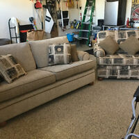 Trendline Canadian Made  Couch and Chair