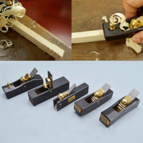 5 Pcs Hand Planes Wood DIY Carpentry Mini Carpenter Tool Woo