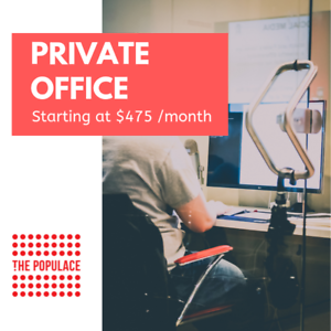 The Populace | Co-Working | Short-Term Private Office Rental